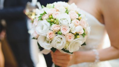 Photo of White Wedding Flowers